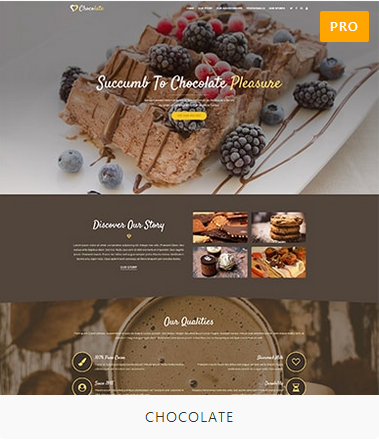 Chocolate Demo Site