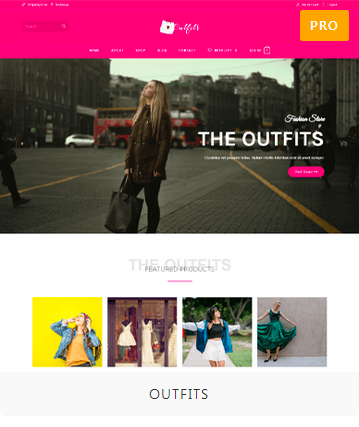 Outfits Demo Site